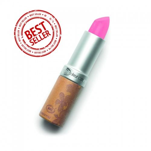 Rtěnka glossy č.221 - Medium pink BIO