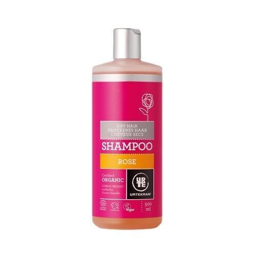 Šampon růžový - suché vlasy 500ml BIO, VEG