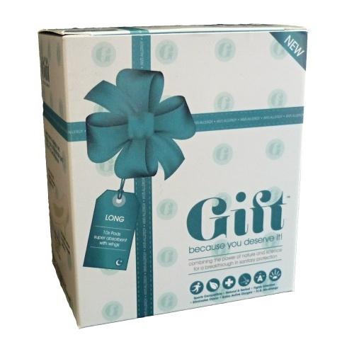 Dámské vložky Gift Pads Noční LONG (10ks)