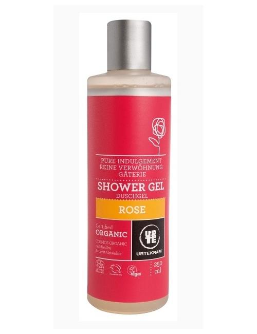 Sprchový gel růžový 250ml BIO, VEG
