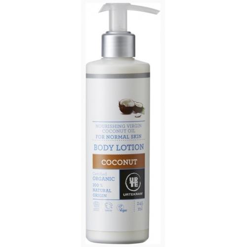 Tělové mléko kokosové 245ml BIO, VEG