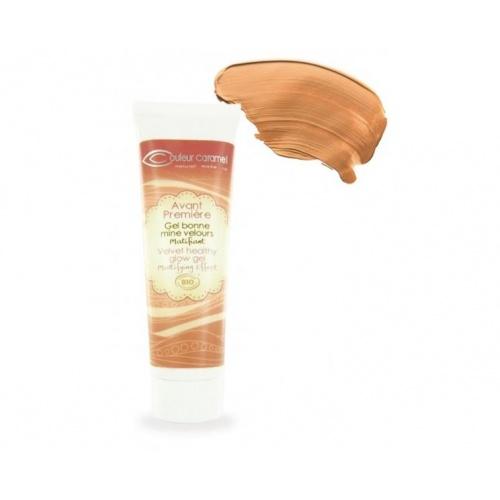 Zmatňující make up č.63 - Caramel 30 ml BIO