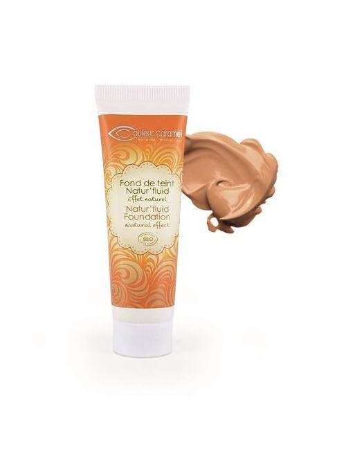 Lehký tekutý make up č.15 - Tanned beige,30 ml BIO
