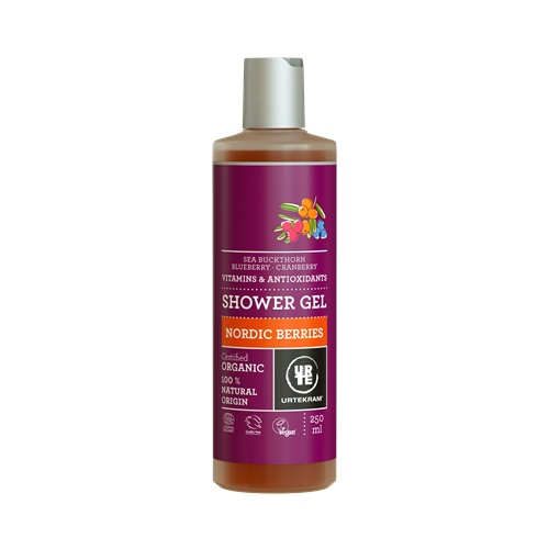 Sprchový gel Nordic Berries 250ml BIO, VEG