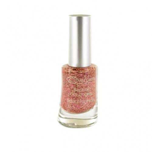 Lak na nehty Jungle č. 13 - Glitter pink gold 8ml