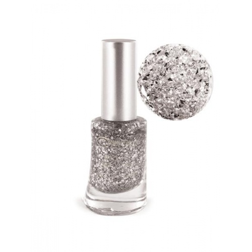 Lak na nehty Jungle č. 14 - Glitter silver 8ml