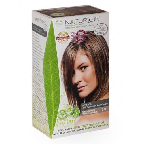 Barva na vlasy 6.0 Dark Golden Copper Blonde