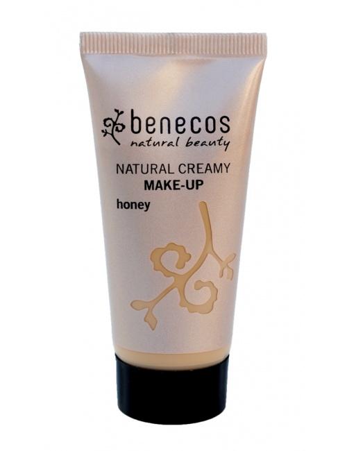 Krémový make-up honey BIO, VEG