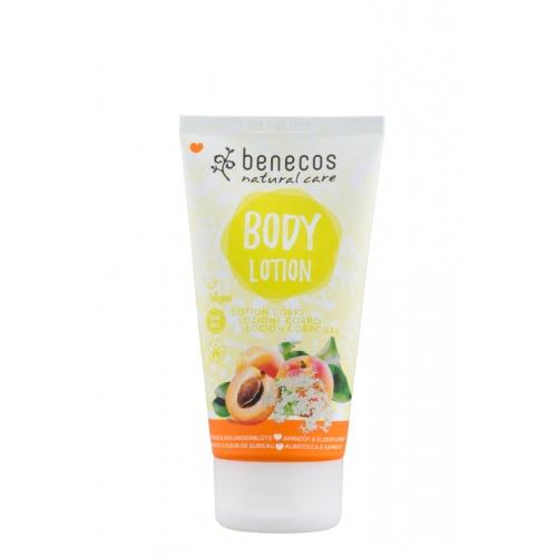 Tělové mléko meruňka a bezinkový květ 150ml BIO, V