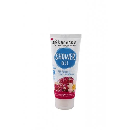 Sprchový gel granátové jablko a růže 200ml BIO, VE
