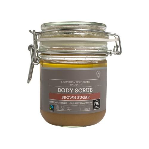 Tělový peeling brown sugar 380g BIO, VEG