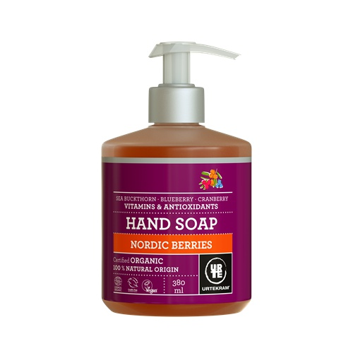 Tekuté mýdlo na ruce Nordic Berries 380 ml BIO, VE