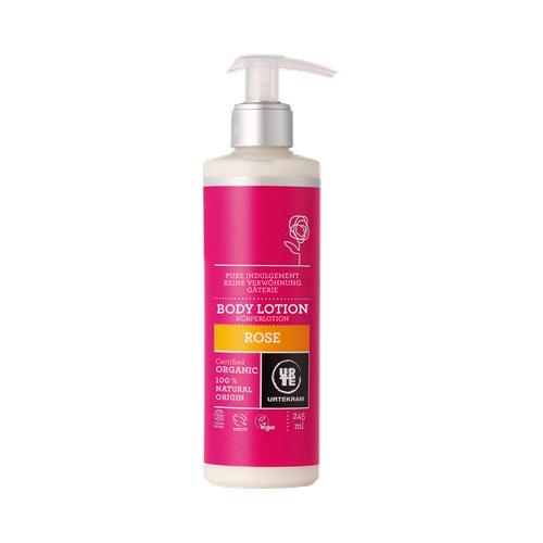 Tělové mléko růžové 245ml BIO, VEG