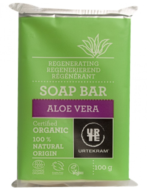 Mýdlo aloe vera 100g BIO, VEG
