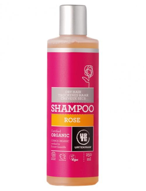 Šampon růžový - suché vlasy 250ml BIO, VEG