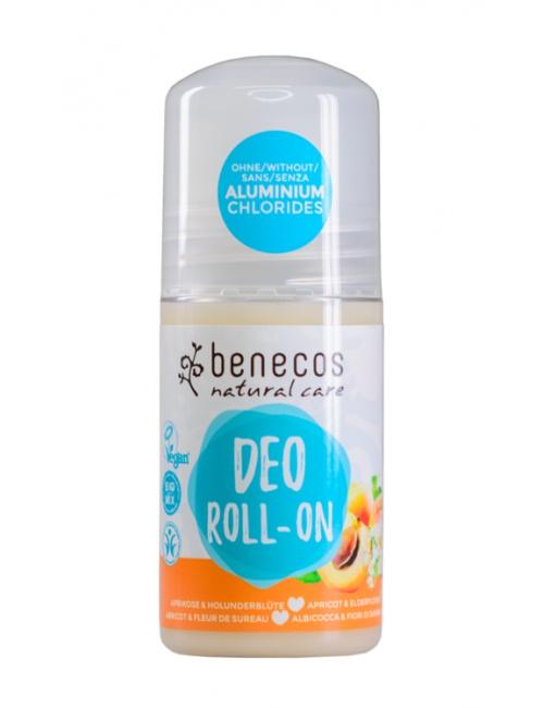 Deo-Roll-On meruňka a bezinkový květ 50ml BIO, VEG