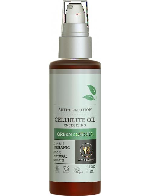 Tělový olej Matcha proti celulit. 100 ml BIO, VEG