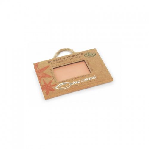 Couleur Caramel kompaktní pudr č.004 Orange beige 7g BIO