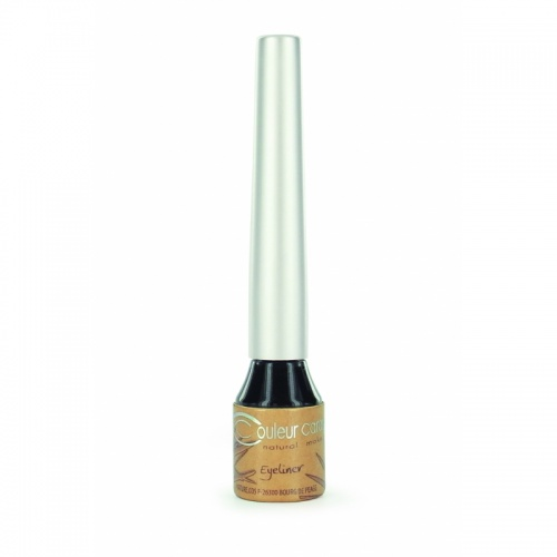 Couleur Caramel tekutá oční linka č.07 Organic black*, 4 ml BIO