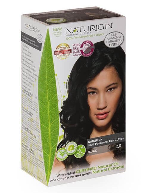 Naturigin barva na vlasy 2.0 Black