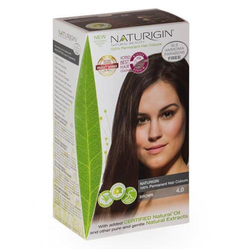 Naturigin barva na vlasy 4.0 Brown
