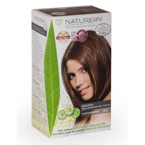 Naturigin barva na vlasy 4.6 Copper Brown