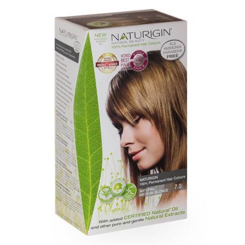 Naturigin barva na vlasy 7.0 Natural Medium Blonde