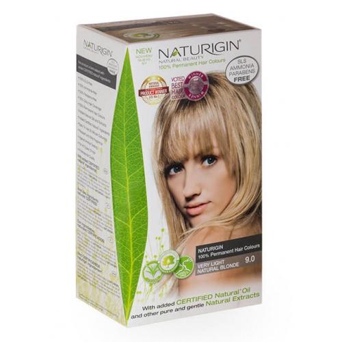 Naturigin barva na vlasy 9.0 Very Light Natural Blonde