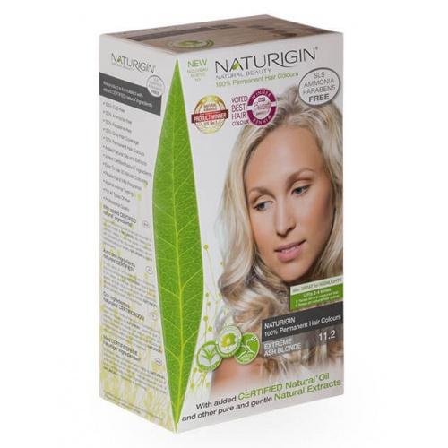 Naturigin barva na vlasy 11.2 Extreme Ash Blonde