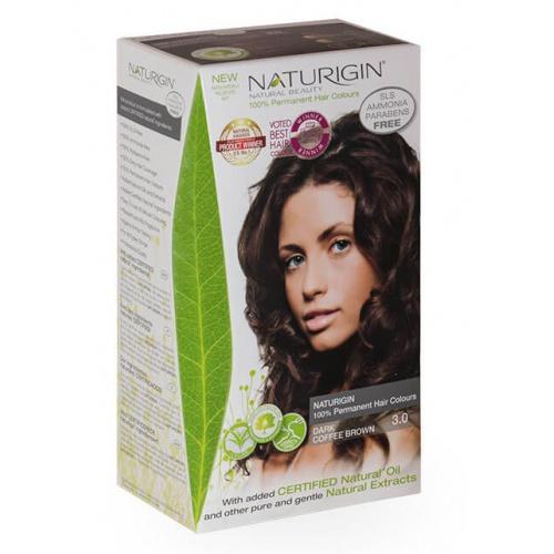 Naturigin barva na vlasy 3.0 Dark Coffee Brown