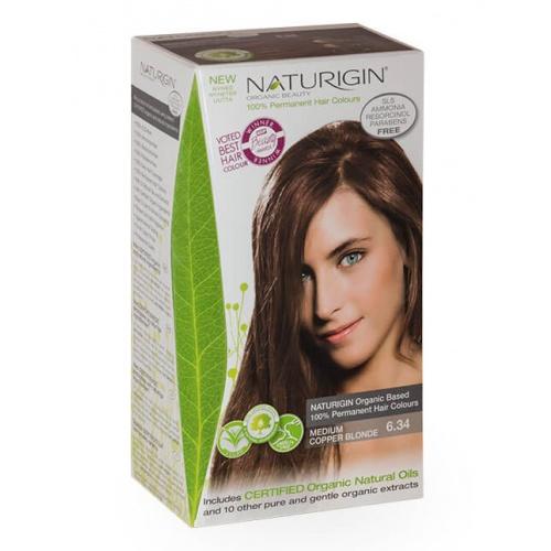 Naturigin barva na vlasy 6.34 Medium Copper Blonde