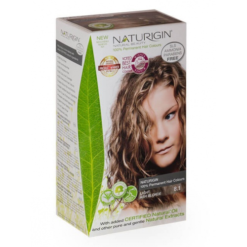 Naturigin barva na vlasy 8.1 Light Ash Blonde