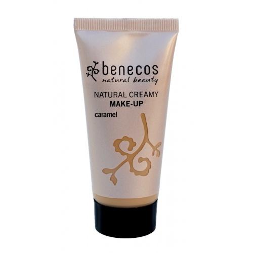 Benecos krémový makeup caramel BIO, VEG