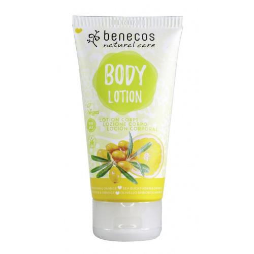 Benecos tělové mléko Rakytník a pomeranč 150ml BIO, VEG