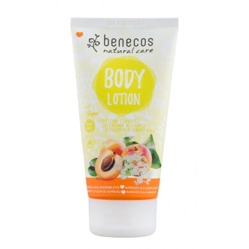 Benecos tělové mléko Meruňka a bezinkový květ 150ml BIO, V