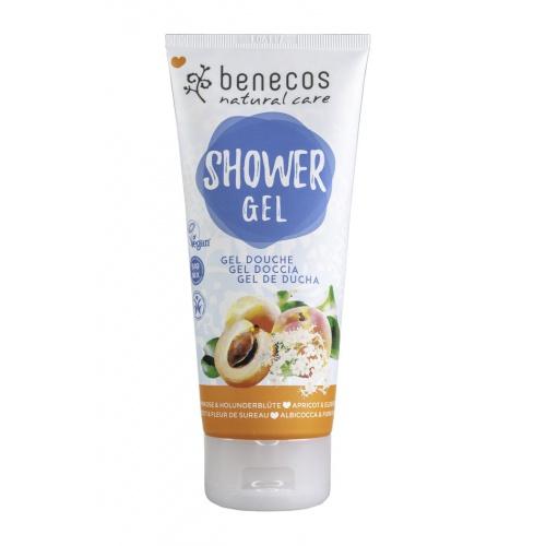 Benecos sprchový gel meruňka a bezinkový květ 200ml BIO, V