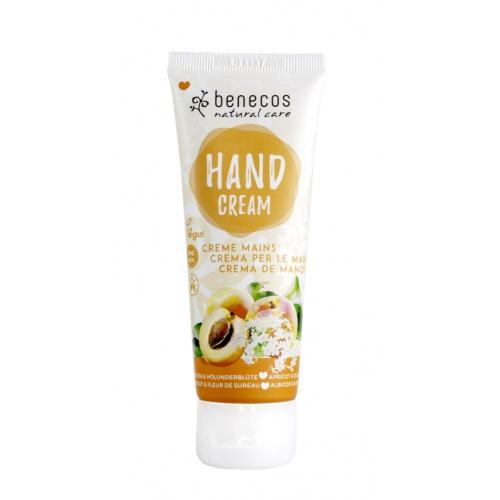 Benecos krém na ruce meruňka a bezinkový květ 75ml BIO, VEG