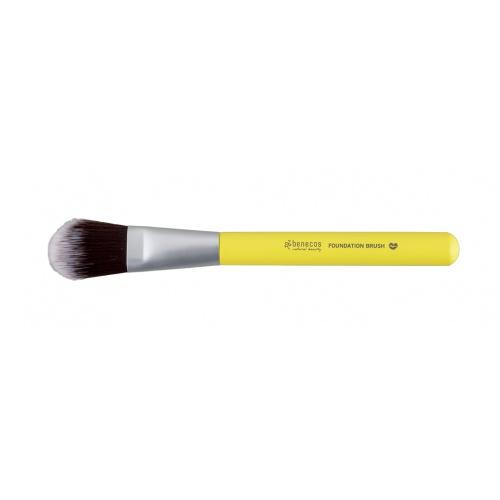 Benecos štětec na makeup Colour Edition