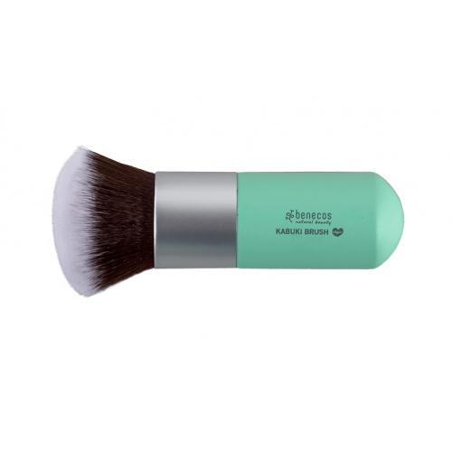 Benecos štětec na makeup kabuki Colour Edition