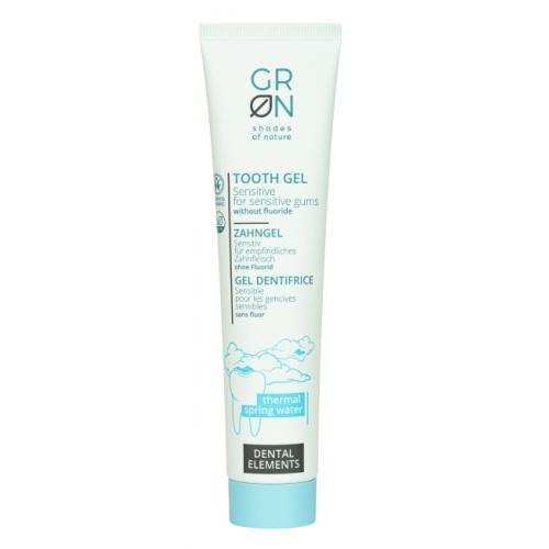 GRoN zubní gel sensitive bez fluoru 75ml BIO, VEG