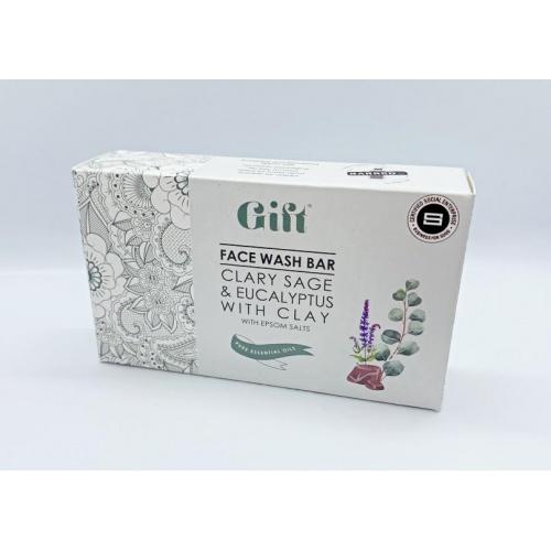 Gift Wellness tuhé mýdlo na obličej 120g