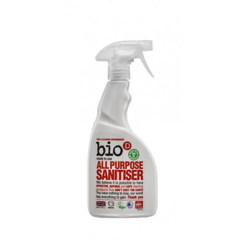 Bio-D univerzální čistič s dezinfekcí s rozprašovačem