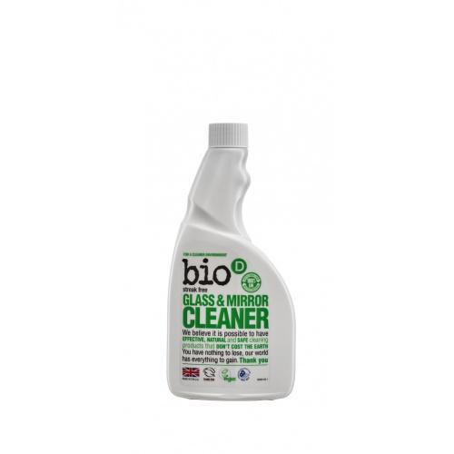 Bio-D čistič na sklo a zrcadla - náplň 500ml