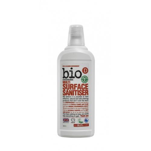 Bio-D čistič na různé druhy povrchů s dezinfekcí 750ml