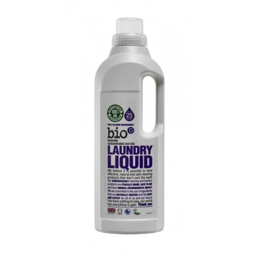 Bio-D tekutý prací gel s vůní levandule 1l