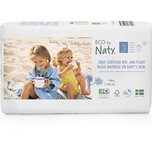 Eco by Naty plenky Naty Midi 4-9kg ECONOMY PACK (50 ks)
