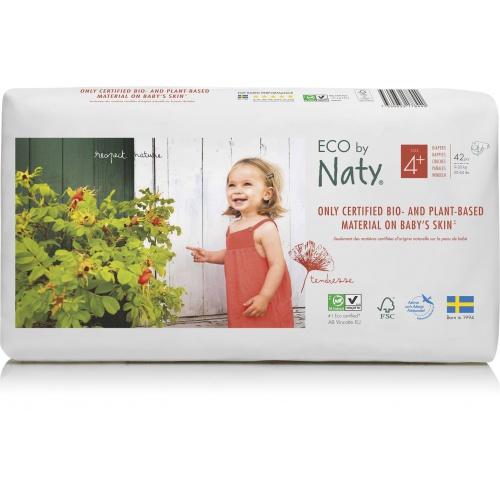 Eco by Naty plenky Naty Maxi+ 9-20kg ECONOMY PACK (42 ks)