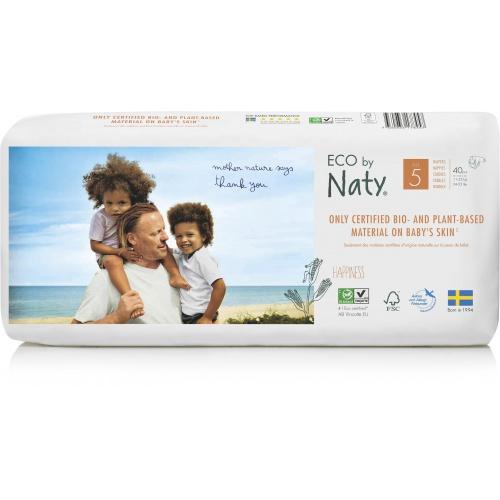 Eco by Naty plenky Naty Junior 11-25kg (40 ks) ECONOMY PACK