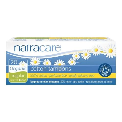 Natracare tampóny Regular (20 ks)