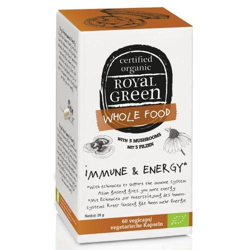Royal Green Bio Imunita a energie 60 kapslí